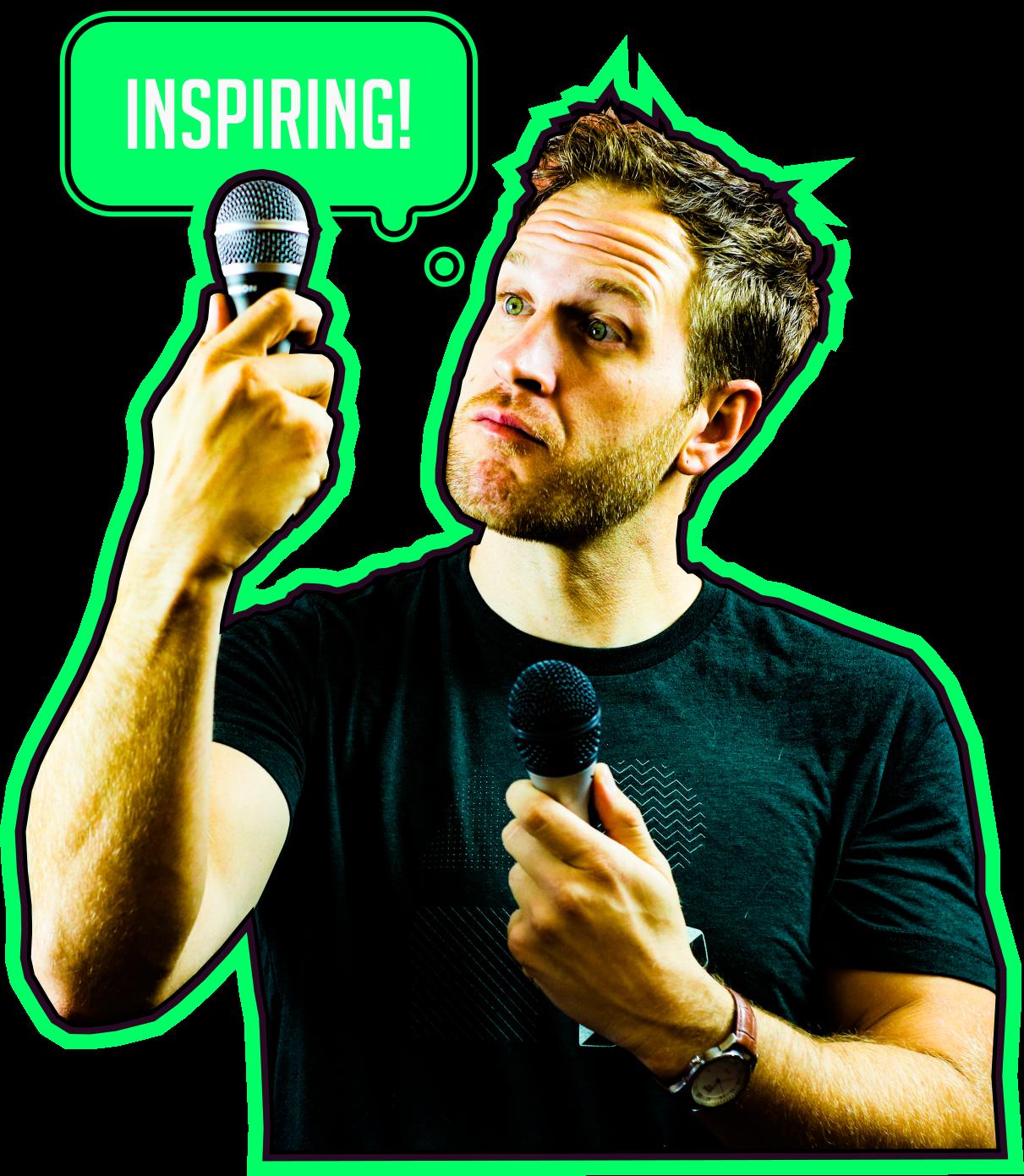 inspiring- Justin Young - Mad Moguls