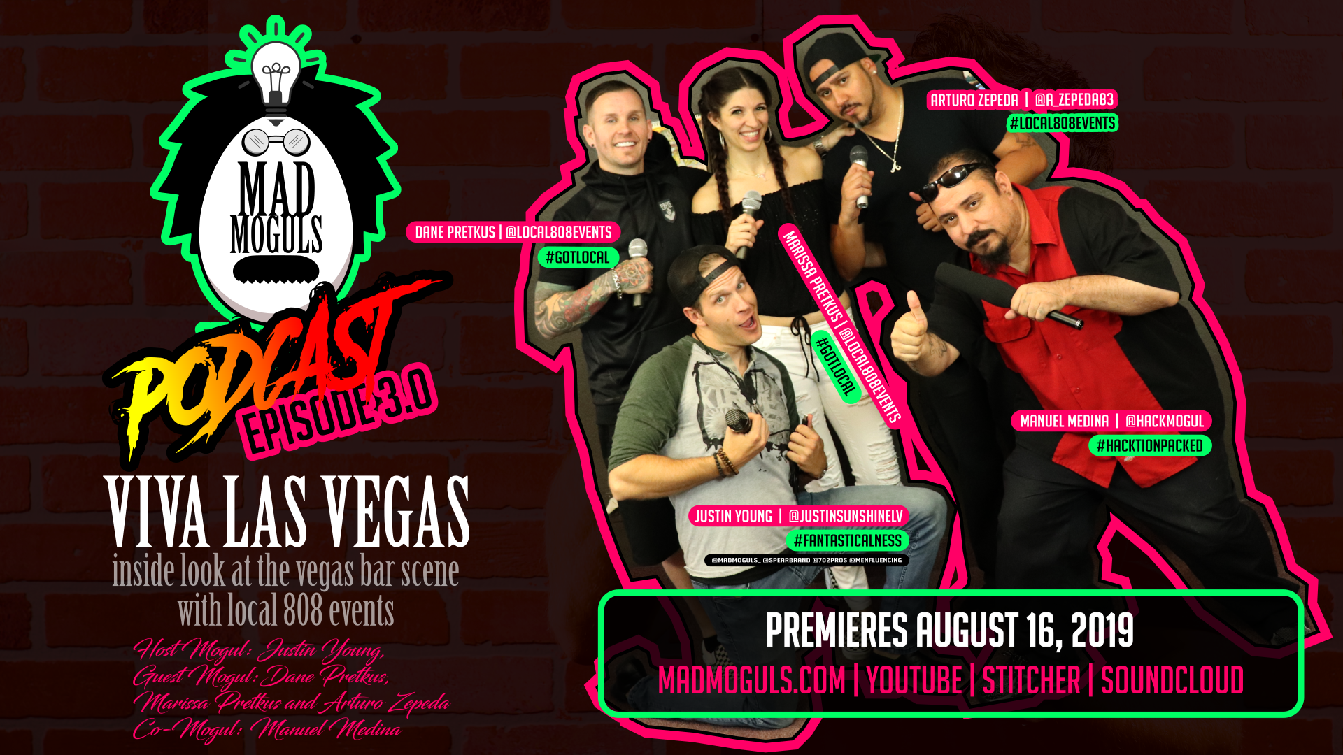 "MAD MOGULS, EPISODE 4.0: ""Viva Las Vegas! Local 808 Events - Mad Mogul Mobile Bars of Vegas"""